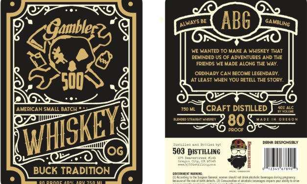 503 Distilling announces release of Gambler 500 Small Batch American Whiskey, made in partnership with The Gambler 500