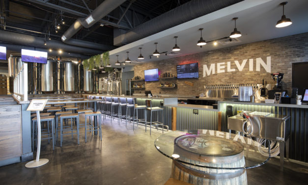 The new Melvin Brewing in Eureka, MO is complete and open, with Knoebel Construction serving as the general contractor