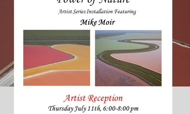 "Madrigal Family Winery's Sausalito Tasting Salon & Gallery Presents Mike Moir's ""The Transcendental Power of Nature"""