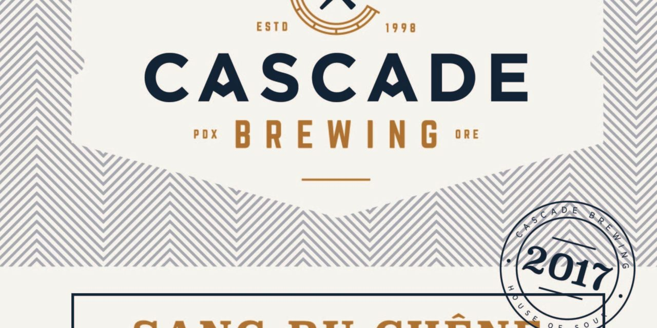 Cascade Brewing to release Sang du Chêne in 500ml bottles and on draft