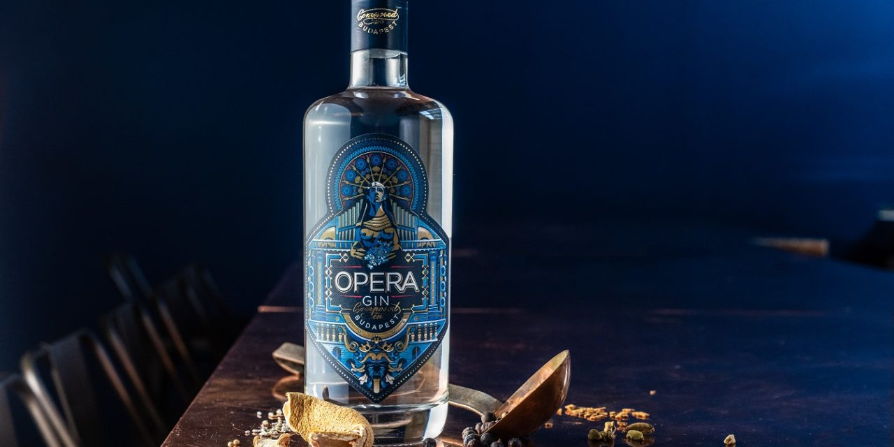 Opera Gin Budapest first gin ever to win a Red Dot Design Award