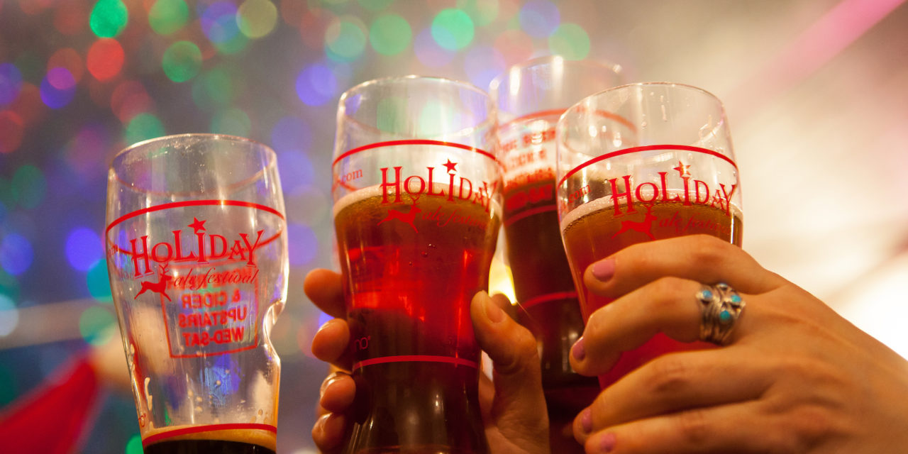 Highly-regarded Holiday Ale Festival presents unparalleled tap list of exclusive rare beers and ciders in Portland, Oregon