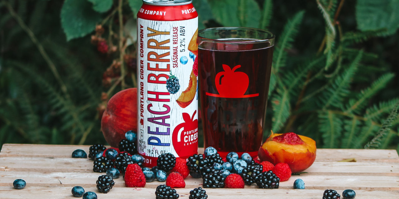 Portland Cider Co. introduces Peach Berry Cider as a new seasonal, adds fan favorite Pineapple Rosé as a year-round core cider