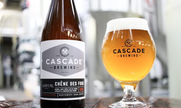 Cascade Brewing Releases Chêne des Fous in Bottles and Draft