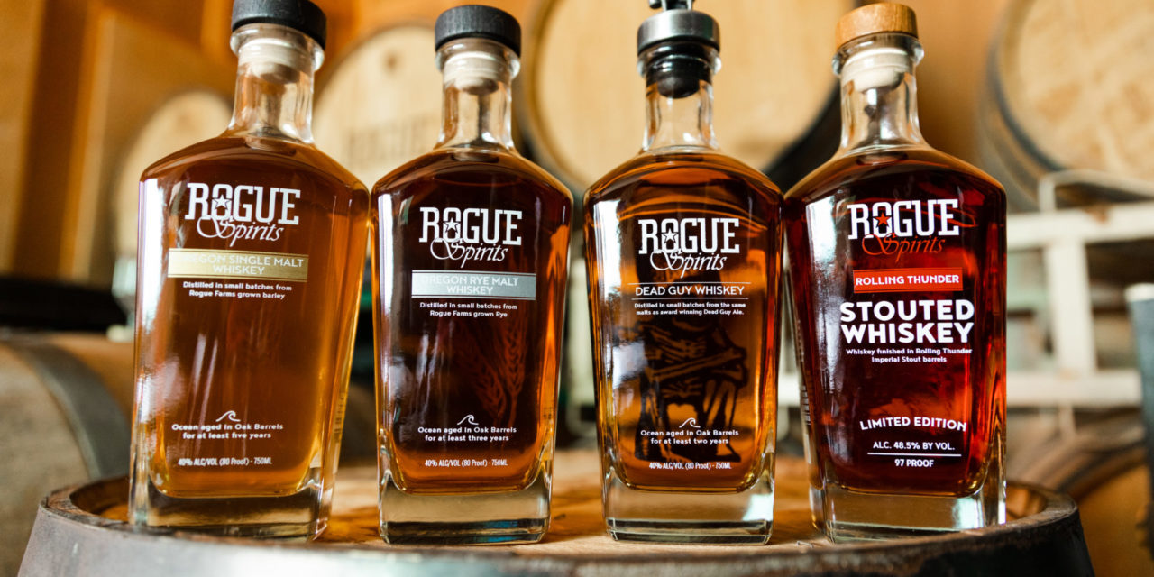 Warm Up with Whiskey from Rogue Spirits this Winter