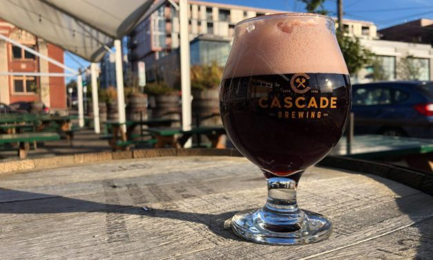Cascade Brewing releases Glueh Kriek––served hot––on draft to kick off Black Friday bottle sale