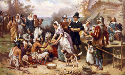The First Drinksgiving in Verse