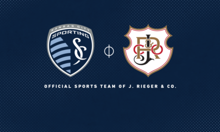 J. Rieger & Co. and Sporting Kansas City Kick Off A Spirited Partnership