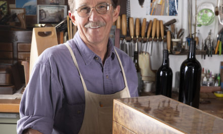 Kent Parker Launches Wine-Focused Woodworking Business