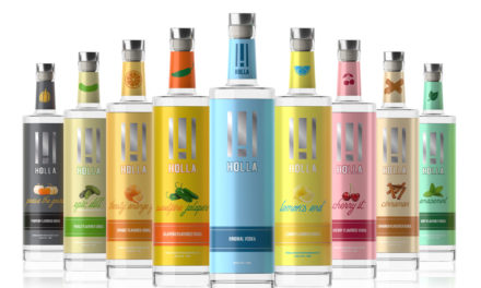 Holla Spirits Rebrands Packaging of Vodka Lineup