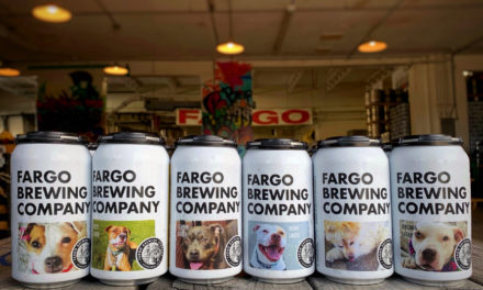 Puppy Love: Fargo Brewing Co. features adoptable dogs on its labels.