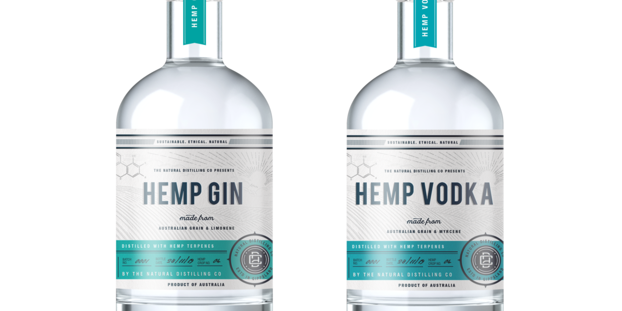 In High Spirits: Natural Distilling Co introduces sustainably sourced Hemp Gin and Hemp Vodka