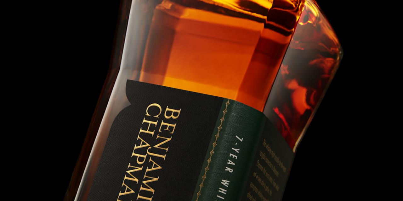 3 Badge Beverage Corp. Introduces Benjamin Chapman Whiskey