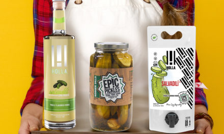 Holla Spirits Partners with Epic Pickles to Spice Up Lineup with Pickle-flavored Vodka