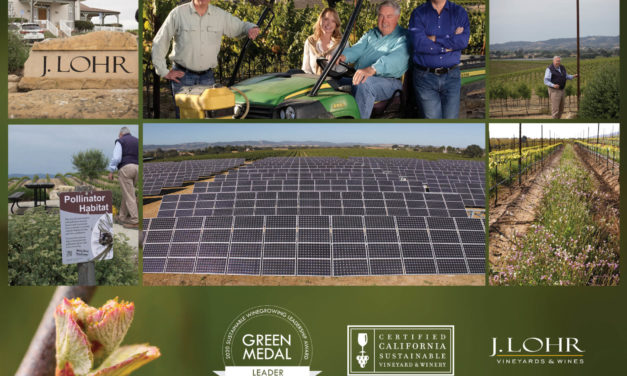 J. LOHR VINEYARDS & WINES WINS 2020 GREEN MEDAL LEADER AWARD