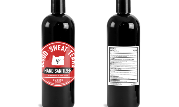 Blood x Sweat x Tears Vodka makes hand sanitizer to protect grocery workers