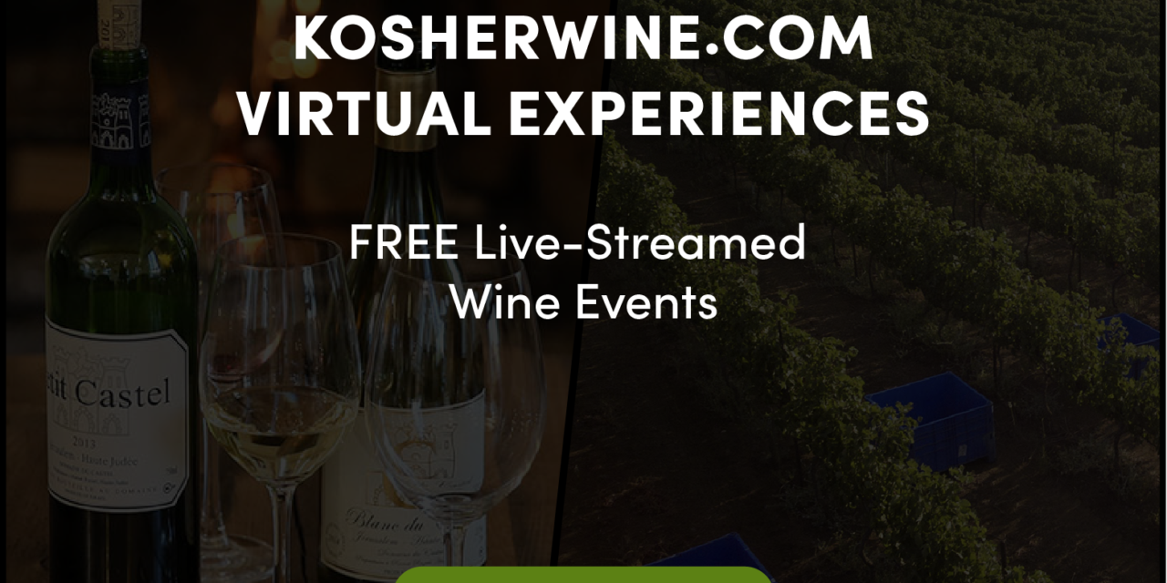 FREE VIRTUAL WINE EVENTS BRING AN INSIDER'S VIEW OF ISRAELI WINE CULTURE WITH TASTINGS, TOURS, COOKING, GIVEAWAYS, AND MORE; Join Wine Experts, Winemakers, and Celebrity Chefs in a 24-Part Series Celebrating All Things Israeli Wine, Through July 5th