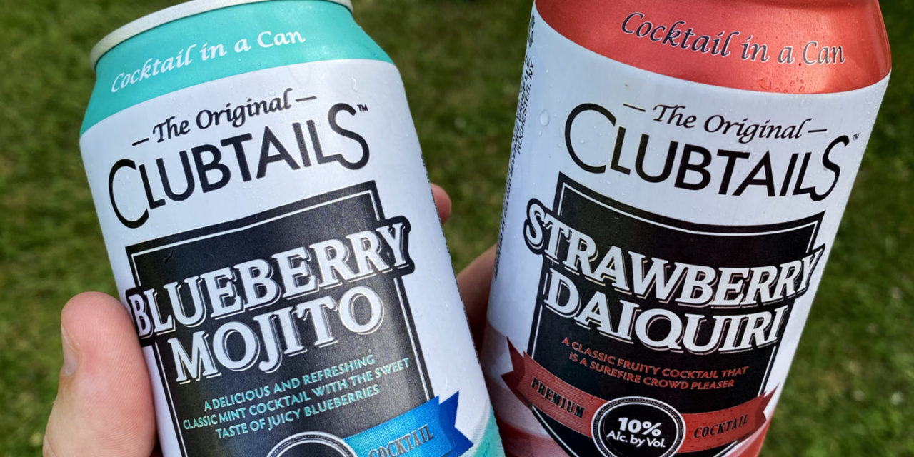 Clubtails Cocktail in a Can Introduces Strawberry Daiquiri and Blueberry Moijto Flavors for Summer