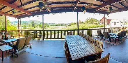 Papapietro Perry Winery Reopens Featuring Expansive Outdoor Tasting Patio with Vineyard Views