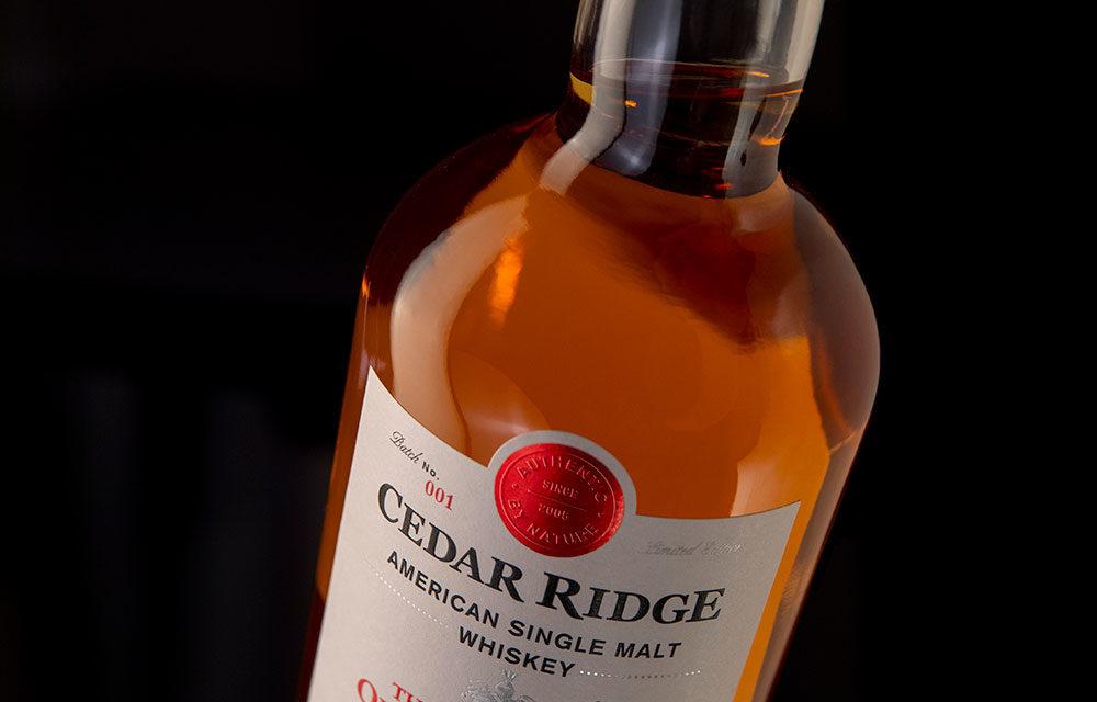 Cedar Ridge Launches The QuintEssential American Single Malt Whiskey