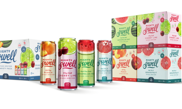Mighty Swell Becomes Highest Selling Independent Spiked Seltzer Brand
