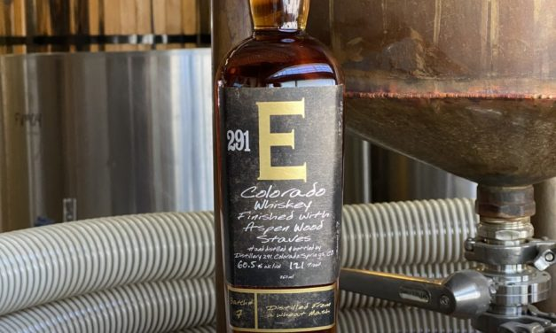 Distillery 291 Releases 291 E Colorado Whiskey Batch #7