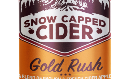 "Snow Capped Cider Releases High-End ""Gold Rush"" Canned Cider"