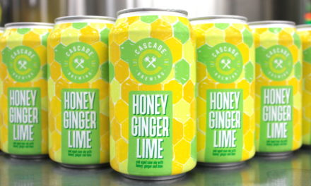 Cascade Brewing packages two favorites for the first time, announces release of Honey Ginger Lime and Honeycot in 12 ounce cans
