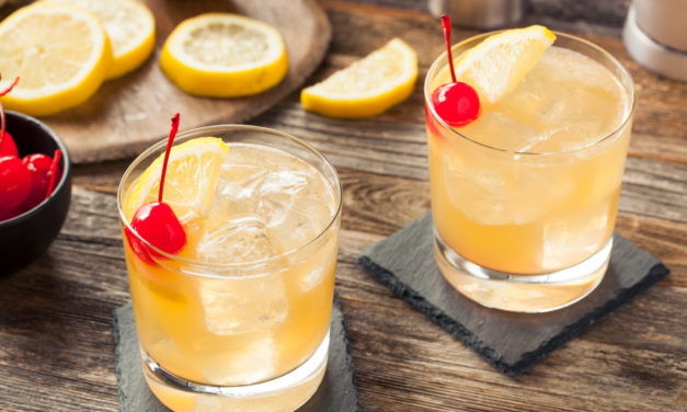 August 25: Whiskey Sour Day