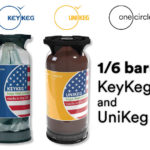 AVAILABLE NOW 1/6 bbl KeyKeg and UniKeg by OneCircle