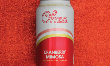 Ohza Expands Product Portfolio with New Canned Cocktail Flavor, Cranberry Mimosa