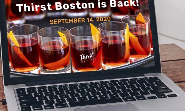 'THIRST BOSTON' SHAKES THINGS UP ON SEPT. 14: 7th Annual Cocktail Festival Goes Virtual