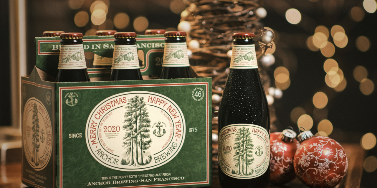 2020 Anchor Merry Christmas Ale Anchor Brewing Company Debuts the 46th Annual Christmas Ale, a
