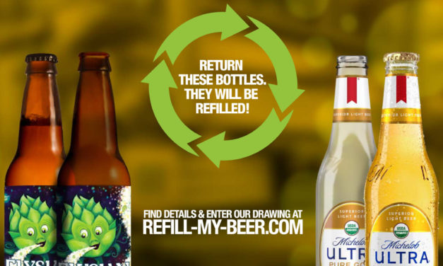 "CONSCIOUS CONTAINER START-UP AND ANHEUSER-BUSCH INVITE THE NORTH BAY TO ""REFILL MY BEER"""