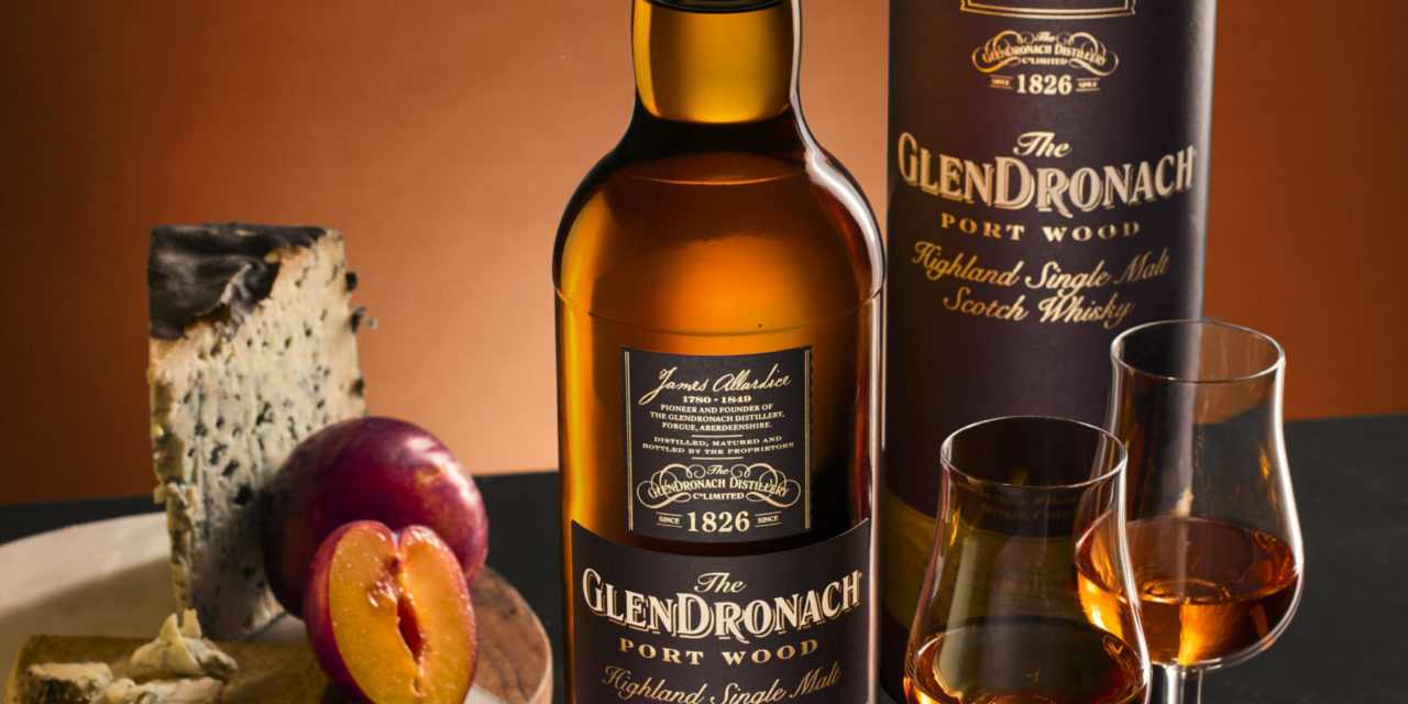 DOURO VALLEY PORT PIPES INSPIRE THE GLENDRONACH PORT WOOD SINGLE MALT SCOTCH WHISKY