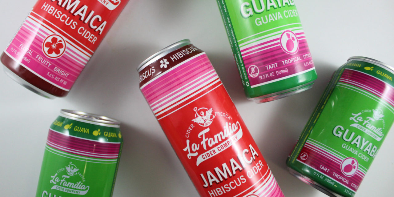 La Familia Hard Cider relaunches its brand in grocery stores, introduces new Guayaba guava hard cider in cans