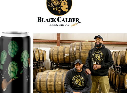 "BLACK CALDER BREWING CO., MICHIGAN'S FIRST BLACK-OWNED BREWERY, WILL LAUNCH ON ""THE BLACKEST FRIDAY"" – NOVEMBER 27"