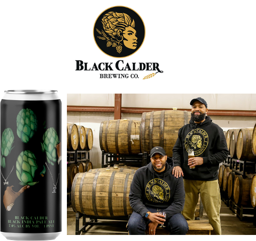 """BLACK CALDER BREWING CO., MICHIGAN'S FIRST BLACK-OWNED BREWERY, WILL LAUNCH ON """"THE BLACKEST FRIDAY"""" – NOVEMBER 27"""