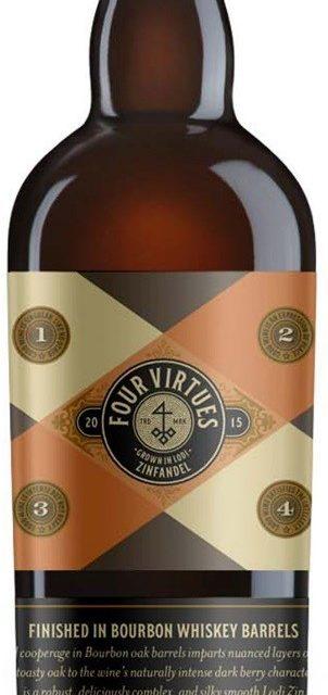 Introducing Four Virtues Bourbon Barrel Zinfandel