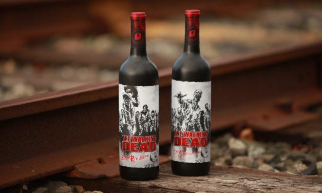 Watch The Dead Rise On The Walking Dead Wine Labels