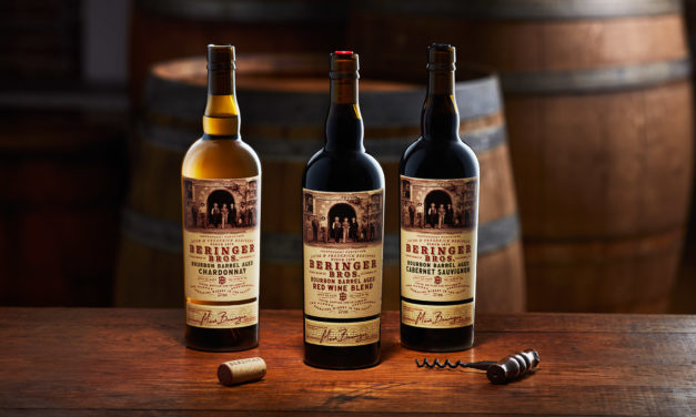 Beringer Bros Bourbon Barrel Aged Wines Feature Augmented Reality Labels