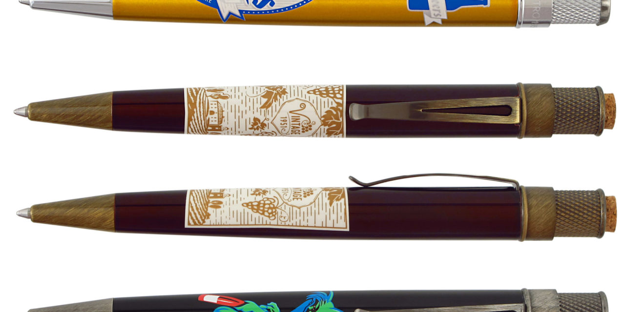 New Retro 51 Speakeasy Rollerball Pens
