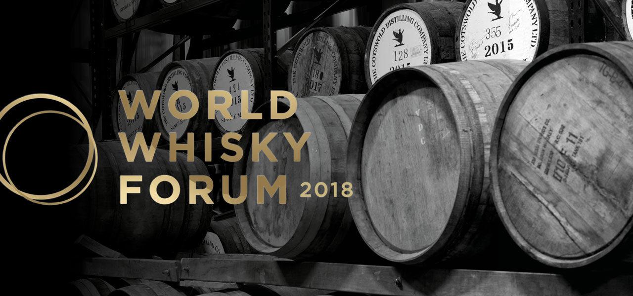 World Whisky Forum 2018 – speakers announced.