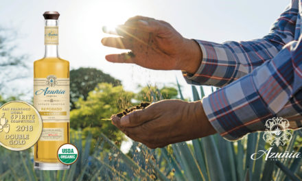 Azuñia Tequila's Organic Reposado wins DOUBLE GOLD at Prestigious 2018 San Francisco World Spirits Competition
