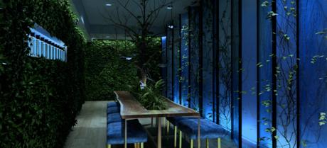 Dandelyan &  Bombay Sapphire Launch Botanical Suite at Mondrian London