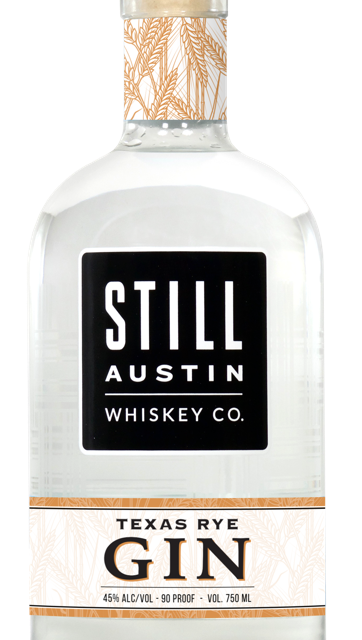 STILL AUSTIN WHISKEY CO. RELEASES TEXAS' FIRST RYE GIN Austin's Grain-to-Glass Whiskey Distillery Expands Into Gin Production with Newest Spirit