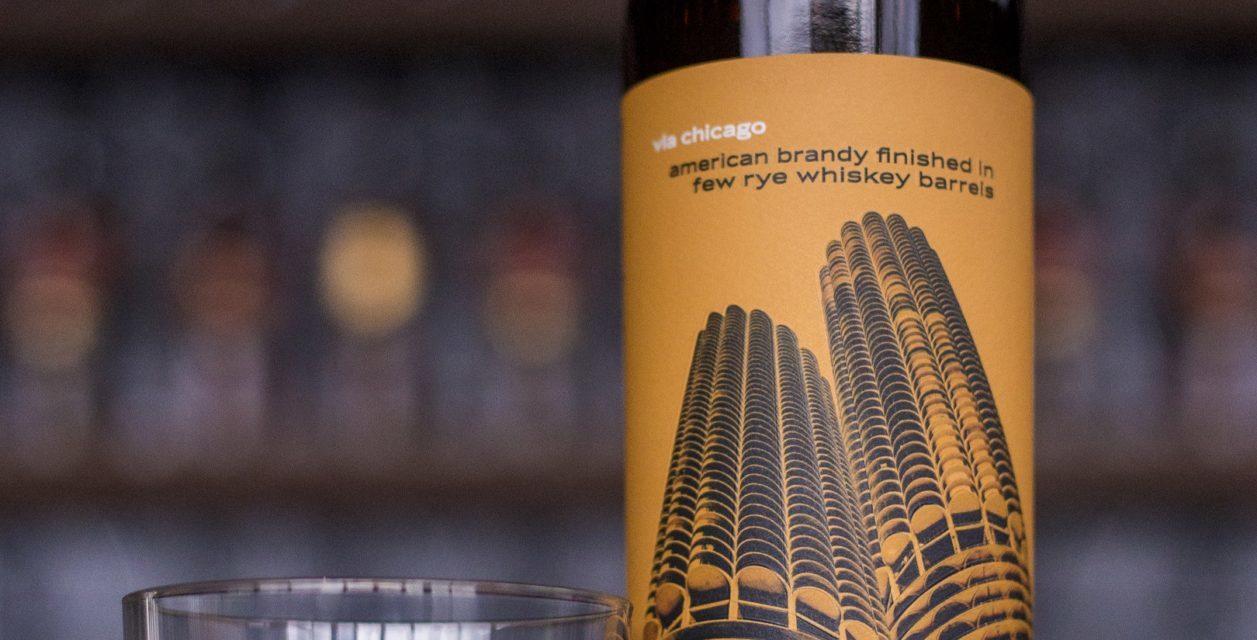 Copper & Kings American Brandy Co. Launches via chicago American Brandy Aged in FEW Rye Whiskey Barrels