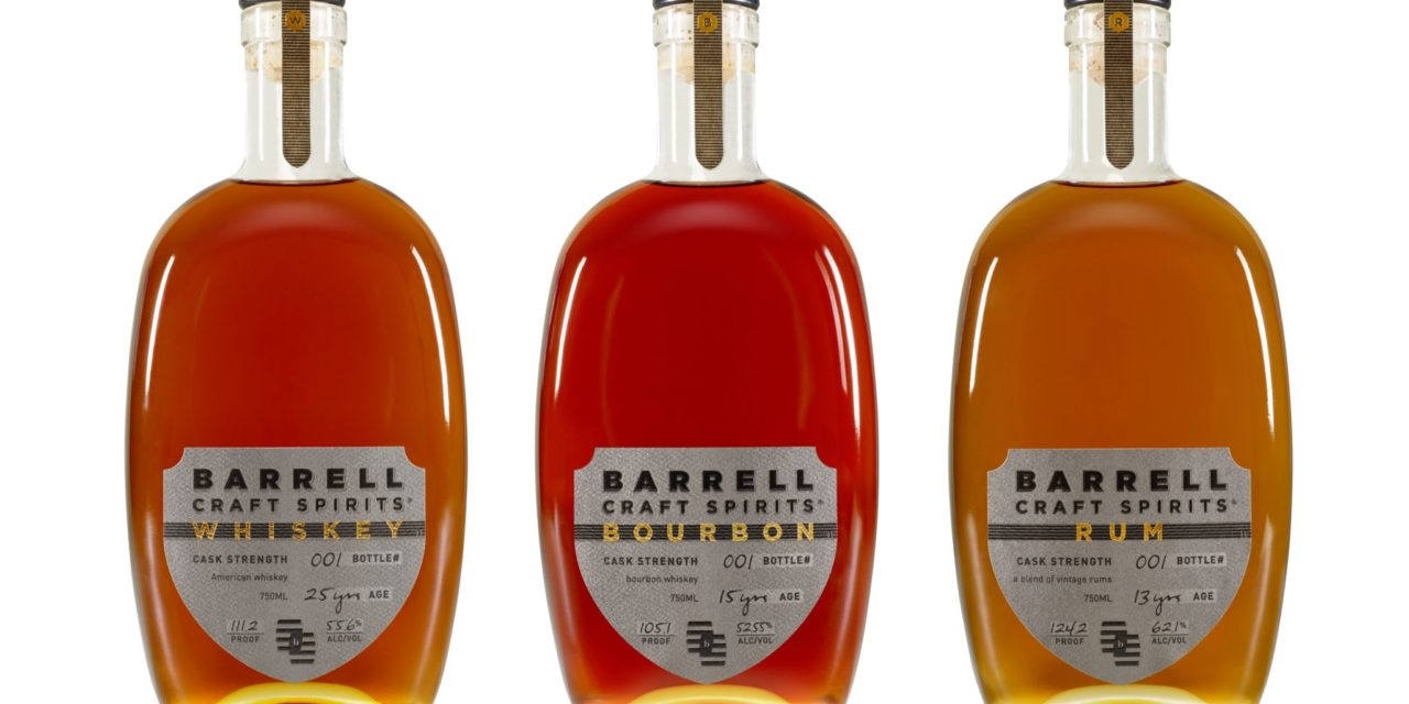 AWARD-WINNING BARRELL CRAFT SPIRTS ANNOUNCES THE BARRELL CRAFT SPIRITS LINE