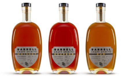 AWARD-WINNING BARRELL CRAFT SPIRTS ANNOUNCES THE BARRELL CRAFT SPIRITS LINE