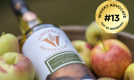 Virginia Distillery Company's Cider Cask Finished Virginia-Highland Whisky Included in Whisky Advocate's Annual Top 20 Guide